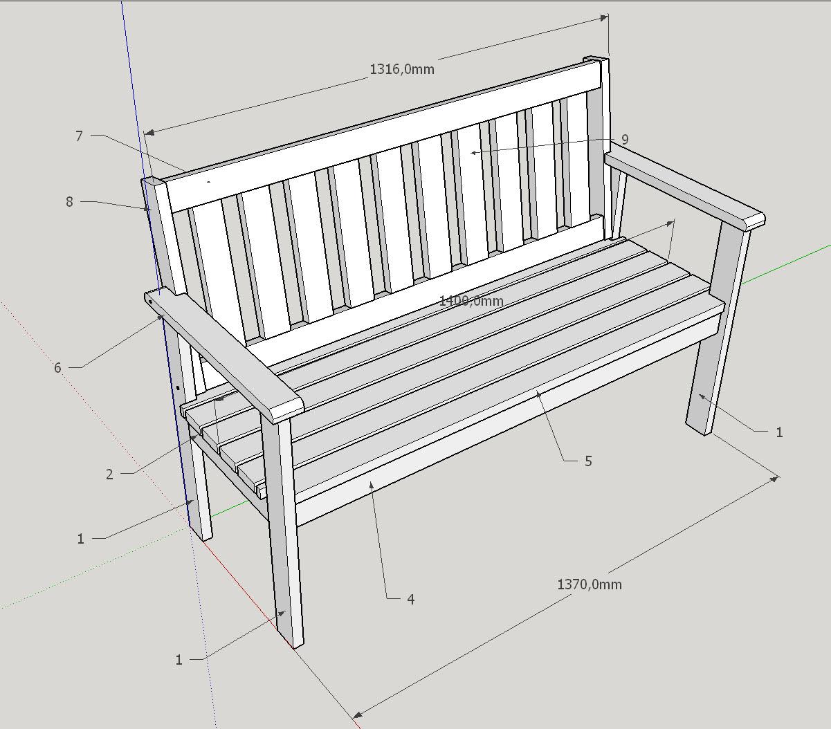 gartenbank selber bauen. Black Bedroom Furniture Sets. Home Design Ideas