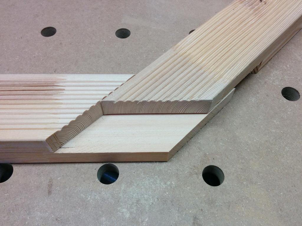 Eckverbindung Rahmen
