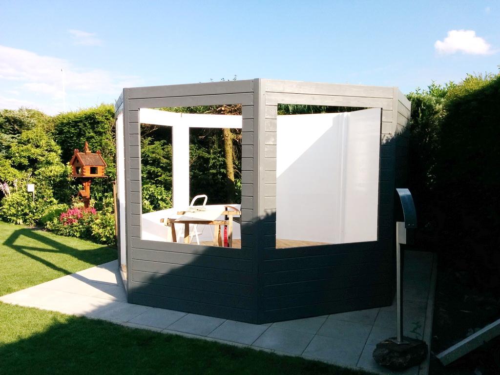 gartenpavillon selber bauen - holzwerkerblog