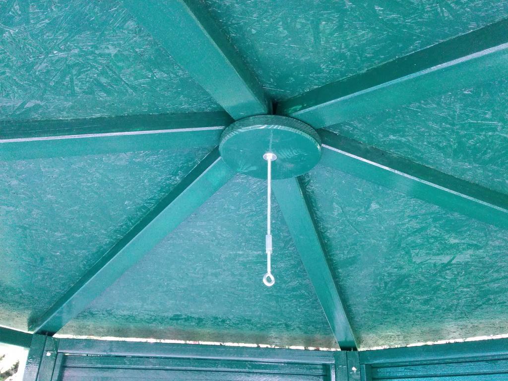 Dach fertig