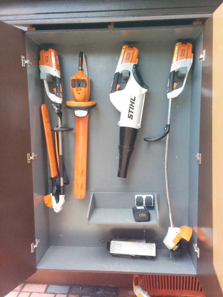 Stihl-Werkzeugschrank