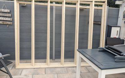 neuen Gartenschuppen bauen – 2