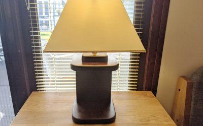 Tischlampe selber bauen